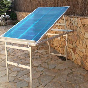 Mesa plegable de aluminio expositora MOD-23