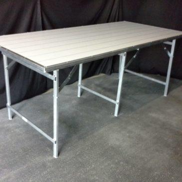 Mesa plegable de aluminio plana MOD-20