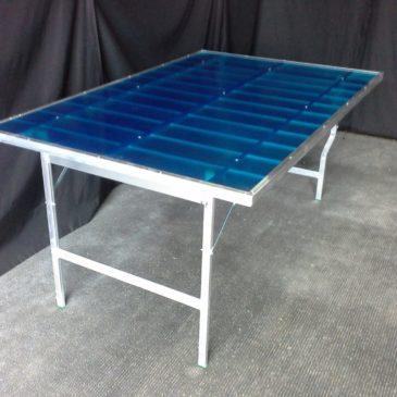 Mesa plegable de aluminio MOD-1